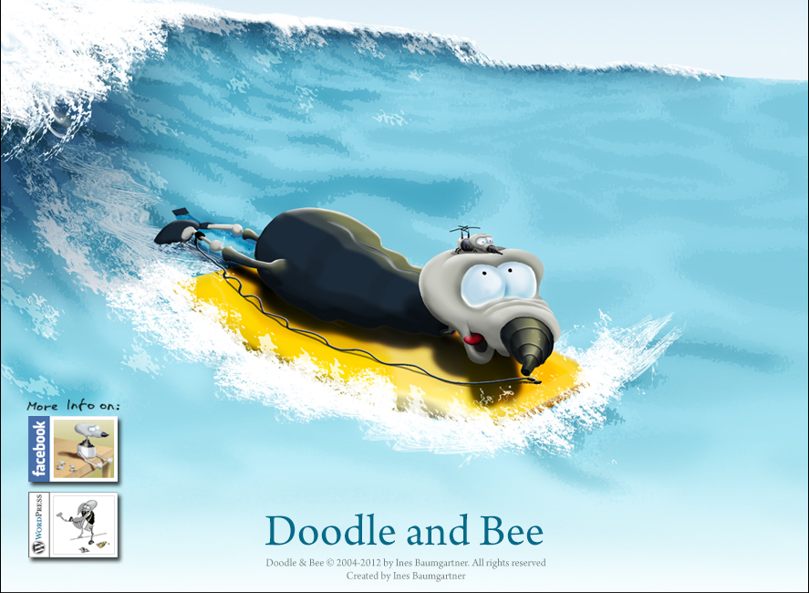 Doodle&Bee Surfing